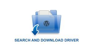 Search and download drivers