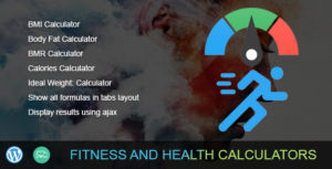 Fitness and Health Calculators